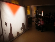 Teatr cieni w wykonaniu uczniów